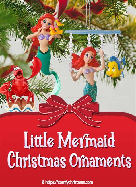 mermaid christmas ornament comfy christmas