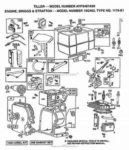 Ayp  Electrolux 3497a99  1999  Parts Diagram For Briggs And Stratton Engine