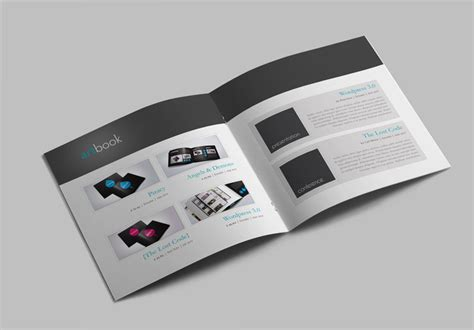 catalog template artbook stockindesign