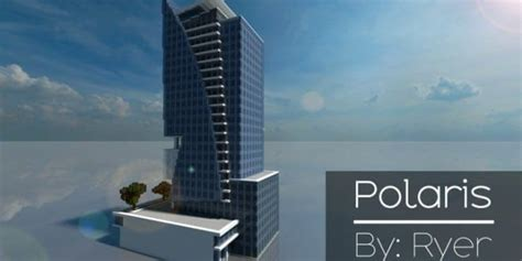 polaris skyscraper minecraft building