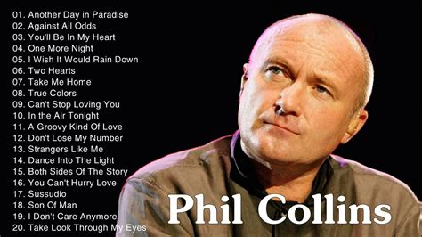 Best Songs Best Songs Of Phil Collins Collection Phil Collins Top