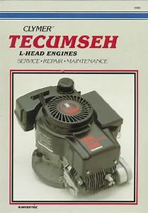 Tecumseh L Head Engine Owners Service  U0026 Repair Manual