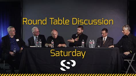 Round Table Discussion Saturday Secret Space Program