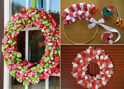 Make This Year's Christmas Decor With Ribbons