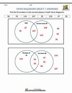 Wiring Diagram  34 Venn Diagram Worksheet With Answers
