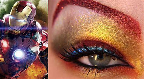 whoa  avengers expressed  extraordinary eye makeup