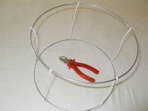 Fabriquer Un Abat Jour En Tissu : fabriquer un abat jour en fil de fer ~ Zukunftsfamilie.com Idées de Décoration