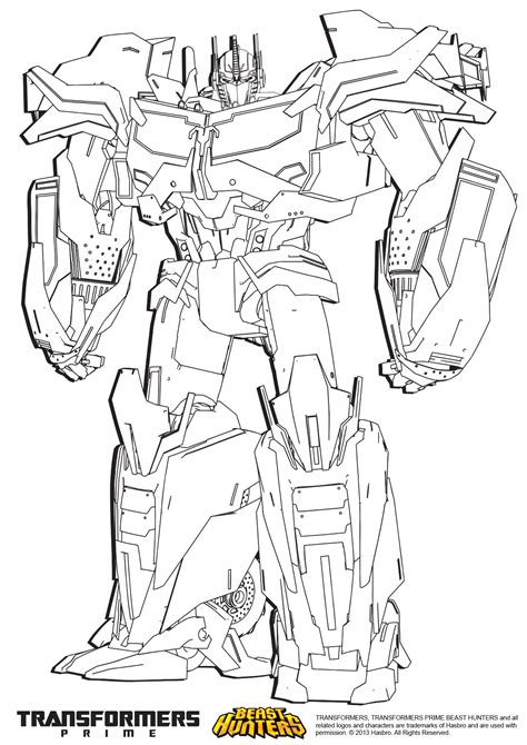 Best Optimus Prime Coloring Pages Ideas And Images On Bing Find