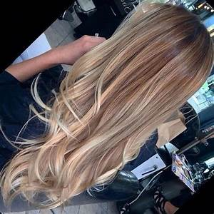 Long straight hair with small curls at the bottom like the ...