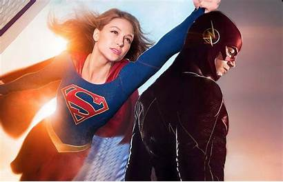Supergirl Flash Wallpapers Crossover 1080p Melissa Benoist