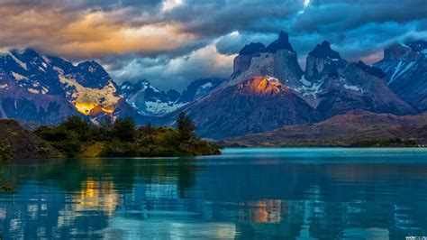 An excellent place to find every type of wallpaper possible. Beautiful Landscape Wallpaper, Sundown Beautiful Landscape ...