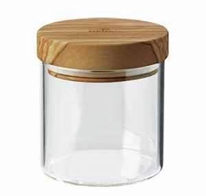 Pot Verre Couvercle : francis batt pot en verre 0 4 litre avec couvercle herm tique en olivier 10 cm h 11 cm ~ Teatrodelosmanantiales.com Idées de Décoration