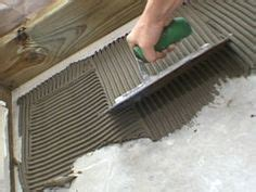 Tiles Adhesive Vs Thinset by 1000 Images About Thinset On Pinterest Tile Grout And