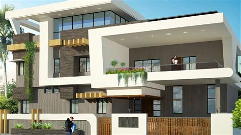 duplex floor elevation design home plans house