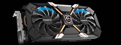 Graphics Card Gigabyte Gaming Fan Spinning Gtx