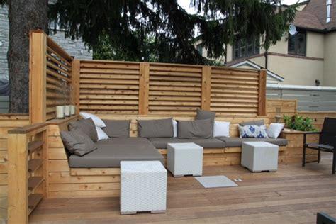 balance murale de cuisine terrasse et patio urbains pour une cour arrière à