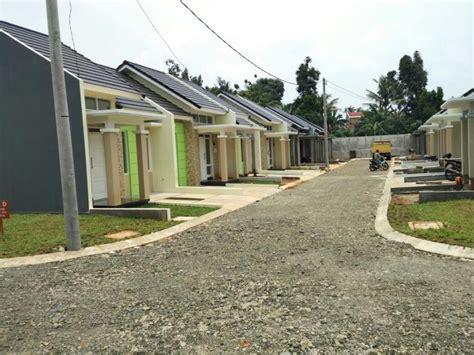 rumah dijual rumah cluster  desain terbagus siap