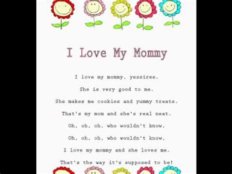 love  mommy kids mothers day rhymes  songs