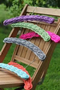 Closet Coat Hanger by Crochet Hanger Covers Kerrie More