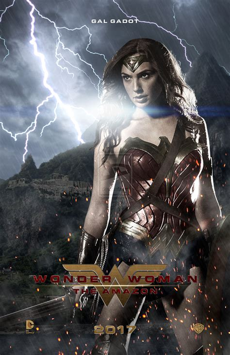 Wonder Woman Poster 1 By Jonesyd1129 On Deviantart