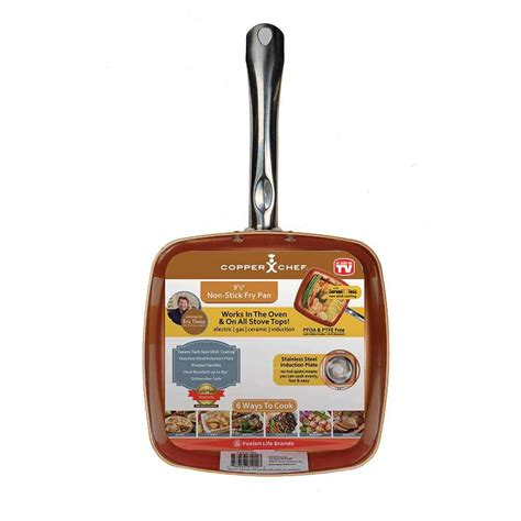 copper chef   nonstick pan camping world