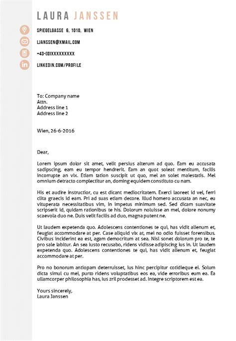 Cover Letter Template by Cv Template Vienna Go Sumo Cv Template