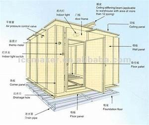 Commercial Cold Storage Room For Meat
