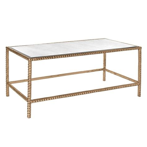 gold mirrored coffee table lena mirrored top gold coffee table