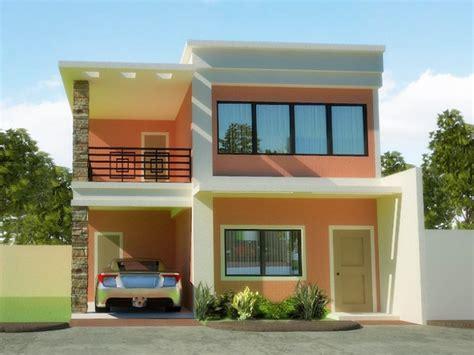 Minimalist Exterior Home Design Ideas by Minimalist 2 Floor Home Exterior Design 2019 Ideas