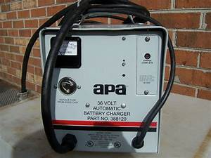 Lester Lestronic Apa 36 Volt Automatic Battery Charger W