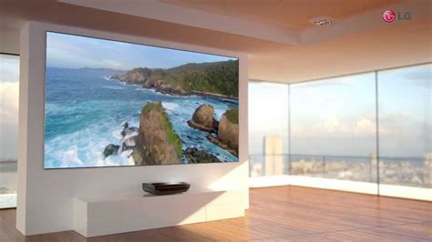 LG 100 inch Laser Display Hecto YouTube