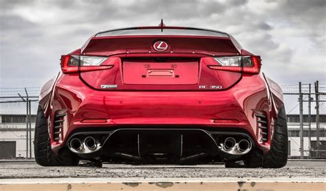 lexus rc  sport rocketbunny widebody