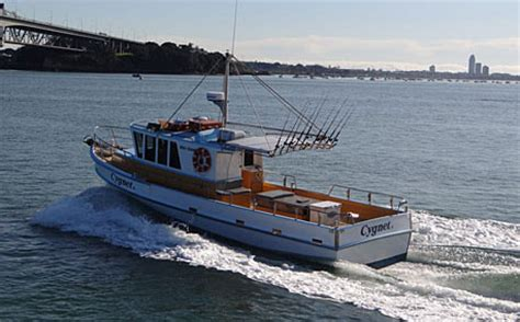 Fishing Boat Charters Nz by Auckland Fishing Charter Boats Cygnet Ii And Reef Runner