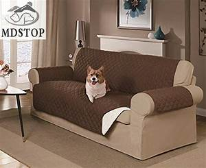 mdstop dog double seat sofa cover protector for dog kids With furniture corner protectors dog