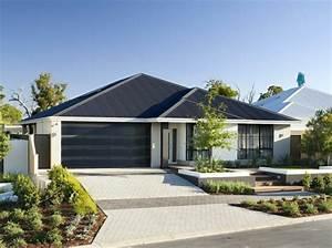 Fassadenfarbe Beispiele Gestaltung : fassadengestaltung einfamilienhaus ideen und bilder ~ Orissabook.com Haus und Dekorationen