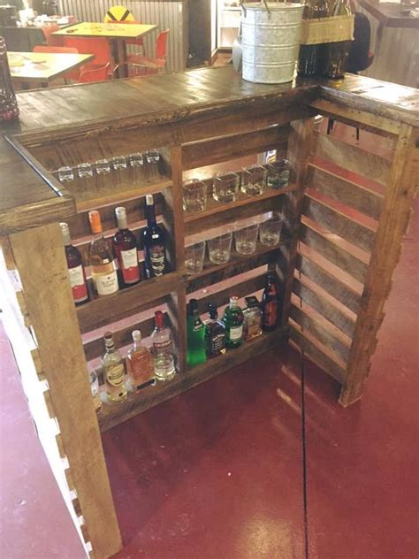 Diy Bar by Pallet Bar Backyard Pallet Bar Bars For Home Wood