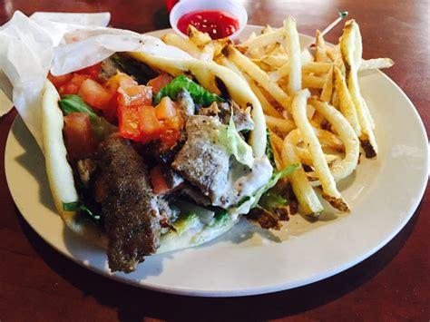 Gyro Sandwich & Fries My Way! Yelp