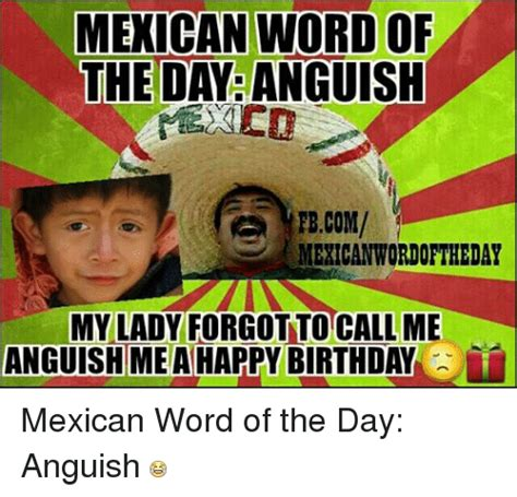 Mexican Happy Birthday Meme - 25 best memes about birthday happy birthday and mexican word of the day birthday happy