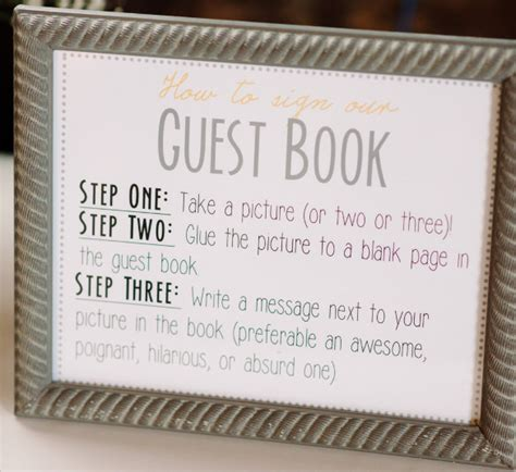 guest books sample templates