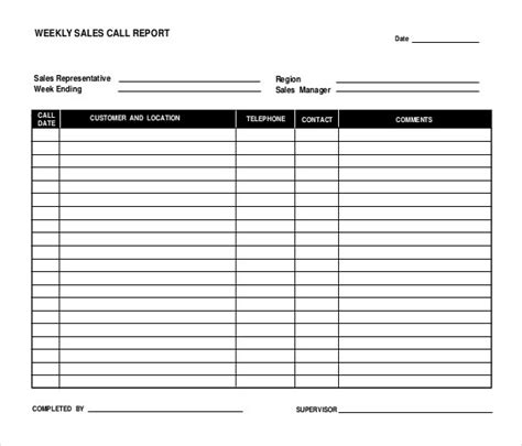 sales report templates docs pages pdfword