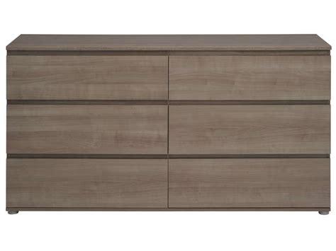 conforama rangement chambre commode 6 tiroirs neo coloris noyer silver vente de