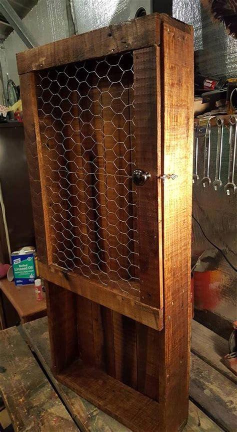 DIY Wood Pallet Kitchen Pantry   Pallets Pro