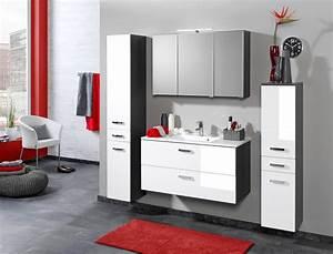 Spiegelschrank 80 Cm Breit : bad spiegelschrank 3 t rig mit led aufbauleuchte 80 cm breit graphitgrau bad spiegelschr nke ~ Eleganceandgraceweddings.com Haus und Dekorationen