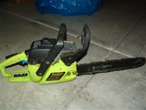 Poulan 2055 chainsaw on Shoppinder