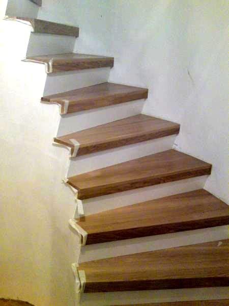 Treppenstufen Holz Renovierung Denvirdevinfo
