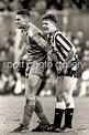 1988 Vinnie Jones grabs Gazza's balls Print | Football ...