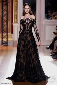 black lace sleeve wedding dress Naf Dresses