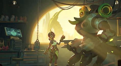 orisa overwatch adds robot tank  hero roster esports