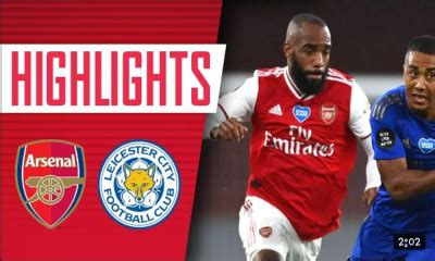 SPORTS VIDEO: Leicester City vs Arsenal 0-2 Goals ...