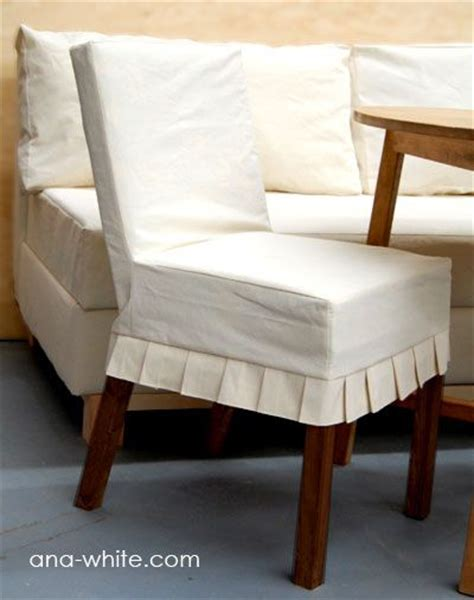 drop cloth parson chair slipcovers from ana white
